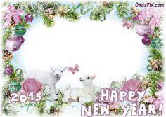 Happy New Year - Marcos para tus fotos