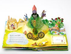 Photo gallery of the making of a Pop Up Book