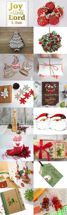 TenX Christmas by Michele and Darryl on Etsy--Pinned with TreasuryPin.com