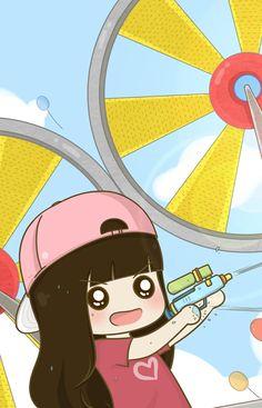 Love Cartoon Couple, Chibi Couple, Couple Goals Tumblr, Chibi Wallpaper, Cute Bear Drawings, Sketches Of Love, Cute Couple Wallpaper, Cute Bears, Happy Moments
