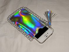 Smart n Snazzy: DIY Stella McCartney Inspired Holographic Phone Pouch