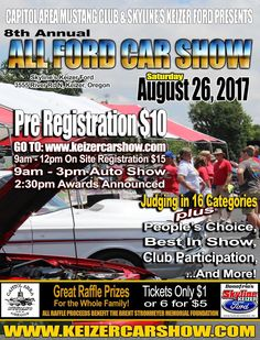 I'm Back Yet Again — It's Been A While, 2017 , ANNUAL ALL FORD CAR SHOW AUGUST 26 , CAMCSALEM.COM , CAPITOL AREA MUSTANG CLUB SALEM , FORD , GT500 , I'M BACK YET AGAIN — IT'S BEEN A WHILE , MUSTANG , SATURDAYS WITH CYNTHIA , SHELBY , SKYLINE FORD
