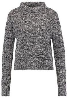 Sweter - black/white