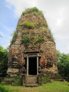 Sambo Prey kok temple, Kampong Thom province, Cambodia. the kingdom of wonder.