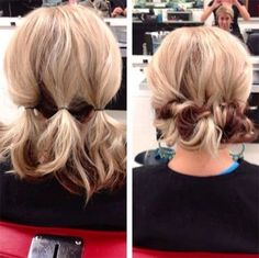 Medium hairstyle tutorials