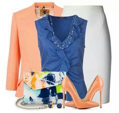 Peach. Color pop.