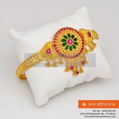 #Traditional #amazing #adorable #beautiful #glamorous #gold #bajubandh from our collection.