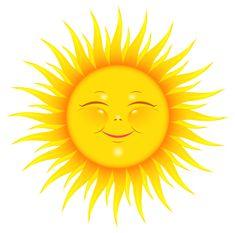 Transparent Cute Sun Picture