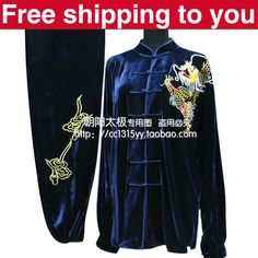 Customize Chinese Tai chi clothing Martial arts outfit taiji suit clothes in…