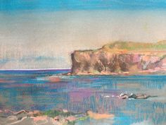 Rhuba Carnach. Ardnamurchan. A4 Pastel Drawing.
