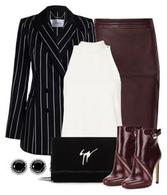 """Untitled #1525"" by gallant81 ❤ liked on Polyvore featuring Zimmermann, A.L.C., Giuseppe Zanotti, Alexander McQueen and Thomas Sabo"