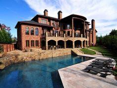 Tuscan Mansion Rear 2