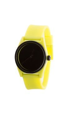 Neff Duo Watch Lime Black Silicone Rubber Adjustable Band Water Resistant  #Neff #Fashion