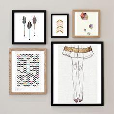 Project: Gallery Walls of Wonderful Art!