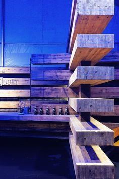 "Olson Kundig Repurpose ""38 Beams"" as Design Miami/ Collectors Lounge"