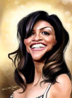 Michelle Rodriguez by edvanderlinden