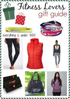 Gift Guide For Fitness Lovers via @pbfingers