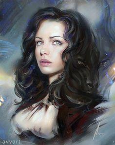 Anna, Aleksei Vinogradov on ArtStation at…
