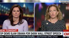 Wasserman Schultz to Warren and Sanders on Obama speech: 'It's none of your business'