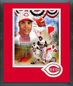 Barry Larkin Framed With Team Color Double Matting Ready To Hang- Awesome & Beautiful-Must For A Championship Team Fan! All Most Team Players Available-Please Go Through Description & Mention In Gift Message If Need A different Team. Art and More, Davenport, IA http://www.amazon.com/dp/B00NVJ3VPS/ref=cm_sw_r_pi_dp_4Wlqub0XQT10P