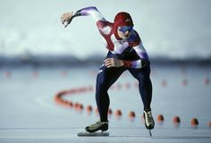 Speed skater Bonnie Blair became the first woman ever to earn five gold medals at the Olympic Games, and until 2010, she was the most decorated American Winter Olympian. (Photo Credit: Duomo/Corbis)