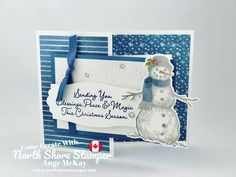 Catalogue, North Shore, Winter Holidays, Stampin Up, Christmas Cards, Diy Crafts, Card Ideas, Snow, Projects