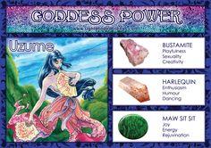 Goddess Power: Uzume!