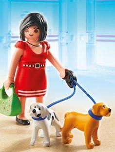 Playmobil 5490 - Mujer con Perritos - Comprar ahora || deMartina.com