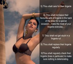 7a8ced9a29 Lingerie Tips   Tricks
