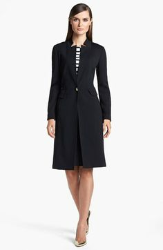06a472ba6c St. John Collection Coat & Dress available at #Nordstrom Knitted Coat,  Nordstrom