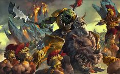 Well of Eternity: Artworks from Age of Sigmar VII - Ironjawz [PL/ENG]