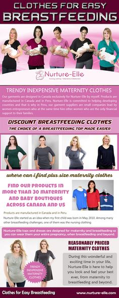 There are many women who look stunning wearing discount maternity clothes purchased online. You can even purchase expensive maternity winter coats with discount on these stores. Buy Trendy Inexpensive Maternity Clothes that are appropriate for the season. Stay cozy and warm during the cold winter days and opt for light airy clothes during the summer days. Look stunning and sexy in your stylish maternity clothes as it is the period to rejoice and relax! Discount Maternity Clothes, Inexpensive Maternity Clothes, Stylish Maternity, Nursing Clothes, Nursing Tops, Maternity Winter Coat, Breastfeeding Shirt, Baby Bottles, Looking Stunning