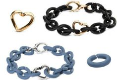 X by Trollbeads- 'Bronze Black and Silver Blue' starter bracelets are a great way to start your #XbyTrollbeads collection!