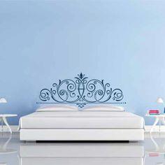 Vinilo decorativo especial cabecero Prince de cama. Masquevinilo.com