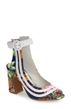 Jeffrey Campbell 'Asante' Ankle Strap Pump (Women) available at #Nordstrom