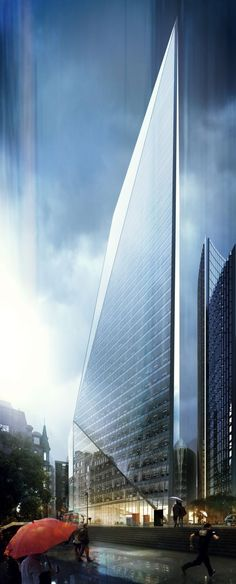 CGarchitect - Professional 3D Architectural Visualization User Community | Lime Street in the Rain