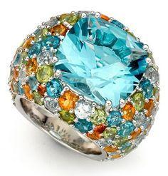 Kiki Mcdonough Bombe Ring. Love it !