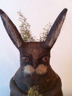Primitive Folk Bunny Rabbit