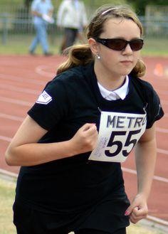 Athletics Open 2015 - Athlete running - Photographer Christopher Minn