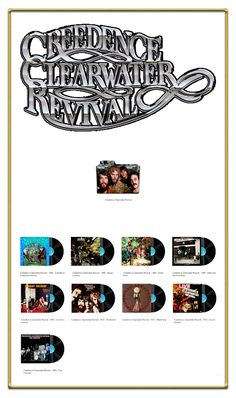 Album Art Icons: Creedence Clearwater Revival