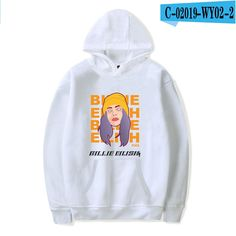 For Sale - singer Billie Eilish Hoodies women autumn winter Thick warm Sweatshirt Casual Sport Pullover Hip Hop Trendy Streetwear Hoodies For Sale, Cheap Hoodies, Billie Eilish Merch, Hip Hop, Sport Casual, Streetwear, Ems, New Zealand, Hooded Sweatshirts