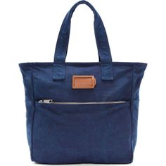 Marc by Marc Jacobs Ink Blue Denim Tote
