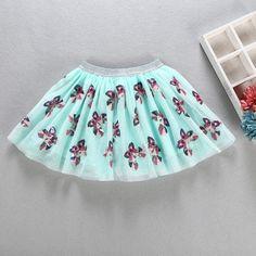 EEFRVDFFDE Infant Girls Romper Sets Flare Sleeve Floral Pattern Romper Top Short Mesh Skirts Sets