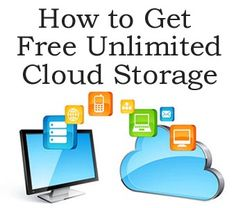 How to get Free UNLIMITED Cloud Storage http://www.ebay.co.uk/itm/How-to-Get-Unlimited-Free-Cloud-Storage-Online-Storage-/141404320526?pt=US_Drivers_Utilities_Software&hash=item20ec5ab30e
