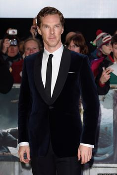 Benedict Cumberbatch- the Huffington Post Canada Style