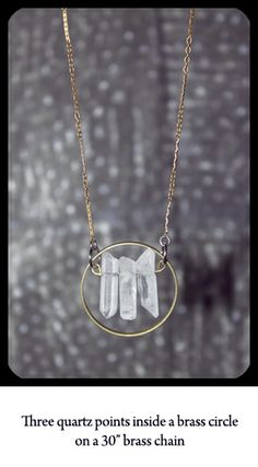 - Sisters of the Moon Jewelry  Seriously love this necklace.