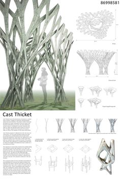 Image 4 of 13 from gallery of Applied: Research Through Fabrication Competition Results and Exhibition. Courtesy of yo_cy Architecture Paramétrique, Futuristic Architecture, Architecture Diagrams, Chinese Architecture, Architecture Presentation Board, Presentation Layout, Presentation Boards, Architectural Presentation, Architectural Models