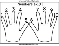 math worksheet : numbers 1 10  shapes  one worksheet  preschool worksheets  : Numbers 1 10 Worksheets For Kindergarten