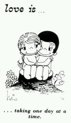 Love Is comic strip. Made me laugh as a kid because the couple was naked in the cartoon all the time. Nowadays it's quite profound in its short essays. Deep Relationship Quotes, Relationships, Love Is Comic, Inspirational Artwork, Betty Boop, Just For You, Love You, My Love, True Love