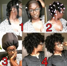 Stretched Perm Rod Set